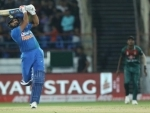 T20: Rohit Sharma guides India to beat Bangladesh by eight wickets, level series 1-1