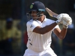 Mayank shines in Indore Test as India 188/3 at lunch on day 2