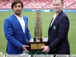 Afghanistan-Ireland only Test trophy unveiled