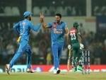 India beat Bangladesh by 30 runs to grab T20 I series
