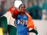 Indian athlete Dutee Chand creates new national record in 100m
