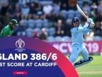 Jason Roy's stylish 153 helps England post 386/6 against Bangladesh