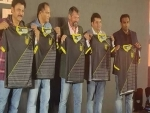 Hyderabad Football Club unveils team Jersey for ISL