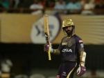 Karthik makes unbeaten 97 to guide KKR score 175 against Rajasthan Royals