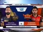 KKR win toss, opt to bowl first Sunrisers Hyderabad