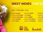 West Indies name squads for ODI, T20 series against India
