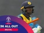 New Zealand bowl out Sri Lanka for 136 runs