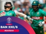 CWC: Spirited Bangladesh post 330/6 against South Africa