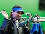 India's Chandela rocks New Delhi's final hall: gold and world record