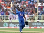 Hitman Rohit Sharma hammers 159 as India post massive 387 against West Indies