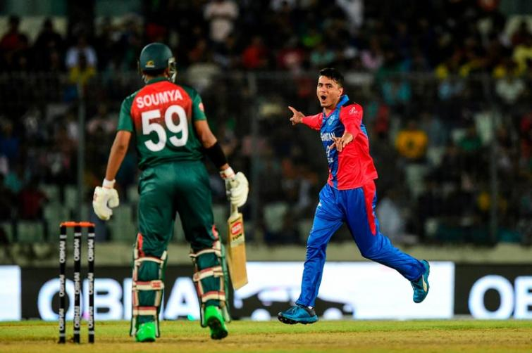 Bangladesh, Afghanistan share tri-series trophy after abandoned final