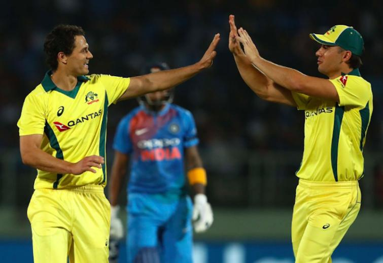 Australia beat India by 3 wickets in Vizag T20