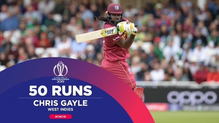 Chris Gayle smashes 50 as West Indies beat Pakistan by seven wickets
