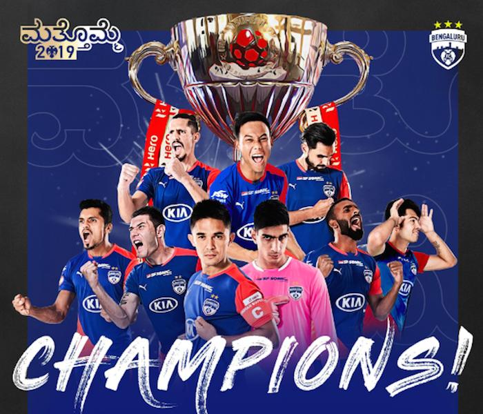 Bengaluru FC are new ISL champions