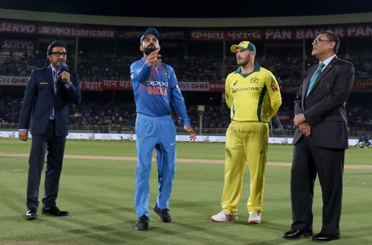1st T20: Australia win toss, opt to bowl against India