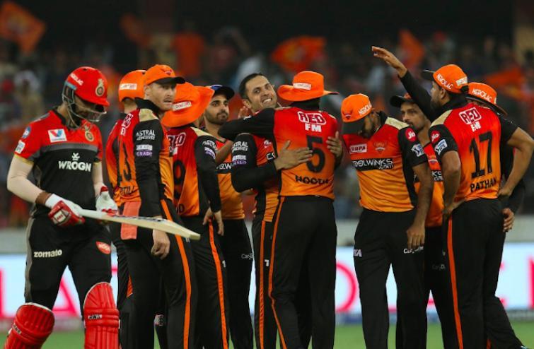 Sunrisers Hyerabad beat Kohli's Royal Challengers by 118 runs