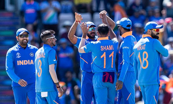 Mohammed Shami's hat-trick helps India beat Afghanistan by 11 runs in World Cup thriller