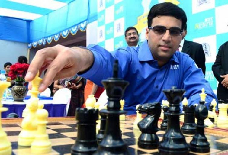 Viswanathan Anand to face tough challenge in Kolkata leg of Grand Chess Tour