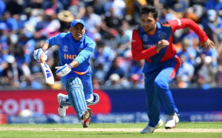 MS Dhoni gets trolled for slow batting against Afghanistan