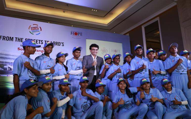 Sourav Ganguly named India ambassador for Street Child Cricket World Cup 2019