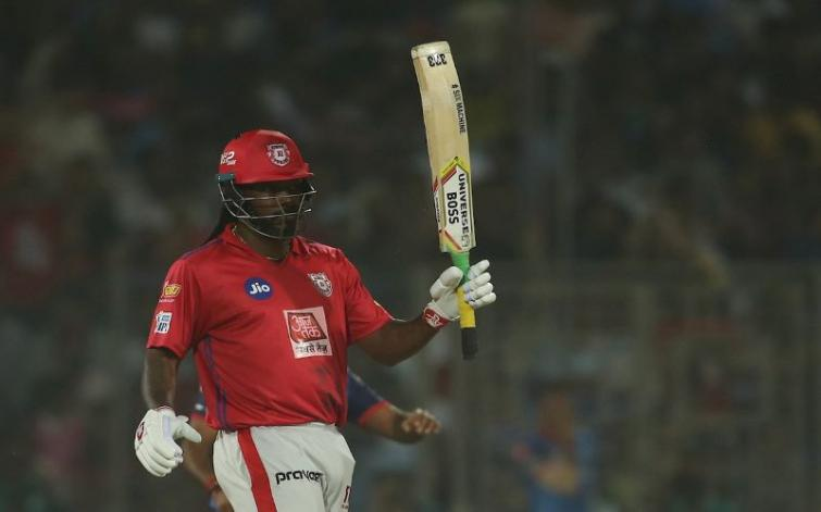 IPL 2019: Chris Gayle shines as KXIP set 164 as target for DC to win