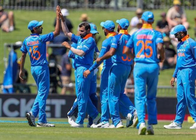 India to chase 158 against New Zealand in Napier