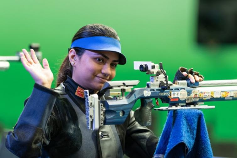 India's Apurvi Chandela wins gold in 10-metre air rifle event