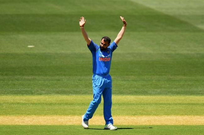 Mohammed Shami becomes fastest Indian bowler to take 100 wickets in ODIs