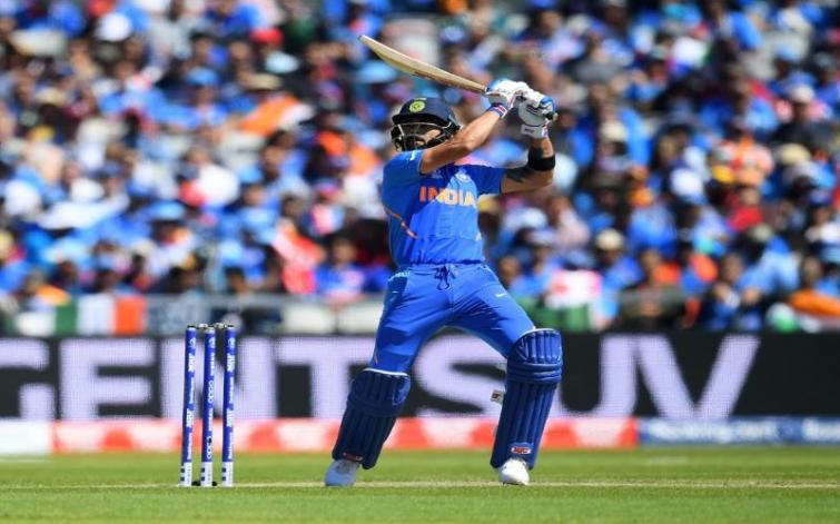 World Cup: India score 268/7 in 50 overs against West Indies, Kohli scores 72