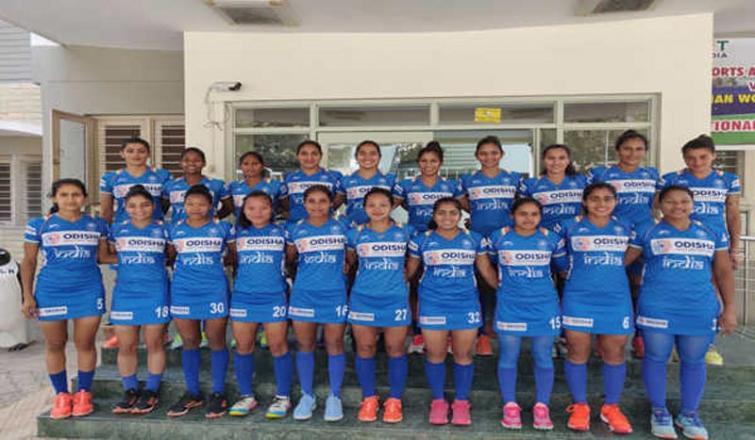 Hockey India names women's team for NZ tour