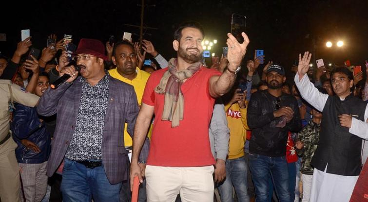 I don't think that I'll ever retire from your hearts: Irfan Pathan in Kolkata
