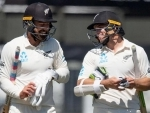 Second Test: After bowling out India for 242, NZ score 63/0 at stumps on day 1