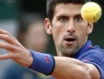 Djokovic takes COVID-19 test