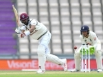 Windies 35/3 at lunch on Day 5