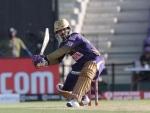 IPL 2020: Skipper Dinesh Karthik, Gill hit half centuries to take KKR to 164/6