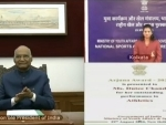 President Ram Nath Kovind virtually confers National Sports Awards on National Sports Day