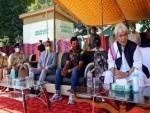 Jammu and Kashmir: LG Sinha inaugurates women's cricket tournament at Anantnag