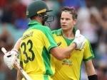 Second ODI: SteveSmith's ton power Australia to 389/4 against India