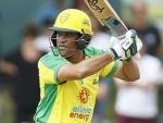 Sachin Tendulkar picks up his bat again, hits a boundary in the first ball