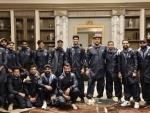 Indian team arrives in Australia for long tour