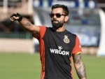 See how Virat Kohli works out at balcony in Dubai for IPL 2020