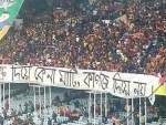 Mohun Bagan, East Bengal supporters unite against CAA in Kolkata Derby