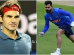 Roger Federer challenges Virat Kohli for a unique challenge