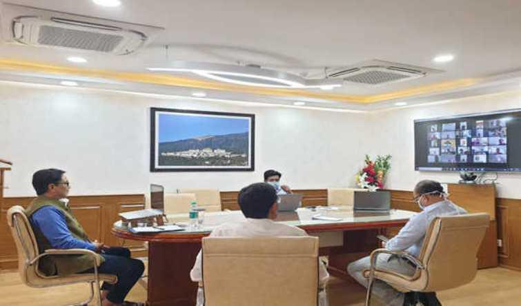 COVID-19: Rijiju reviews arrangements for athletes at SAI Centres