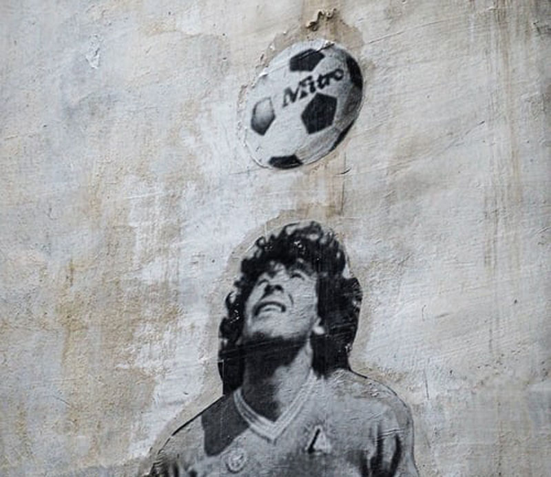 Maradona's manager says football icon was tired, let himself die