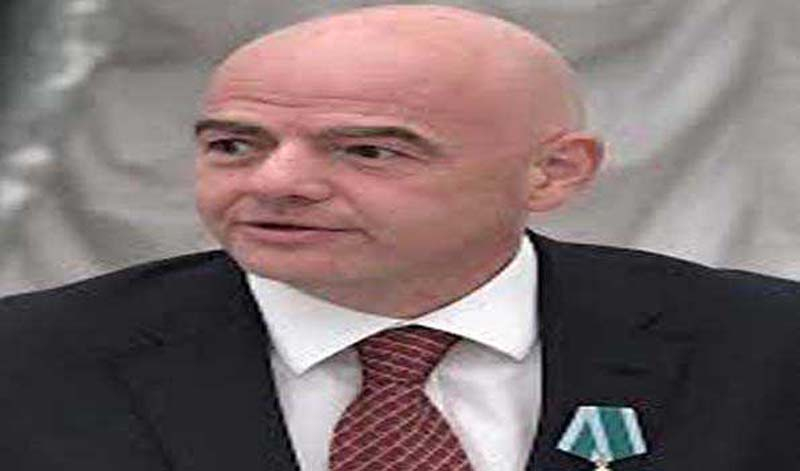 FIFA president Infantino tests positive for COVID-19