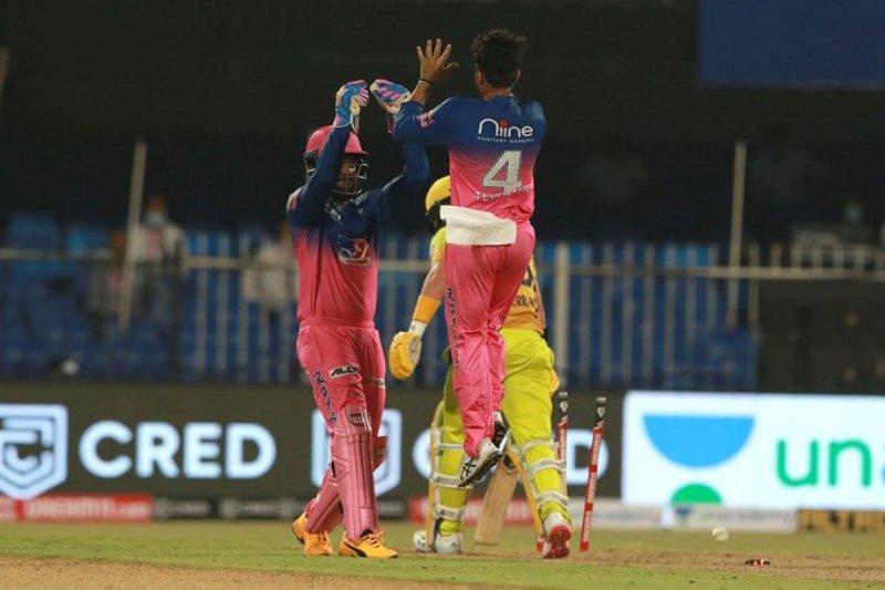 IPL 2020: Rajasthan Royals beat CSK by 16 runs