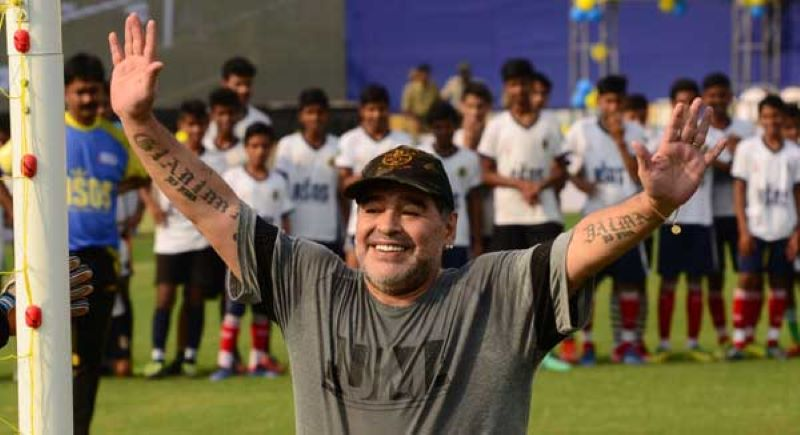 Indian football stars mourn football legend Diego Maradona's demise