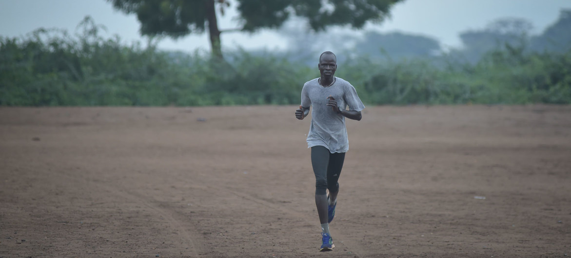 South Sudan refugee, athlete, Olympian is newest UNHCR Goodwill Ambassador