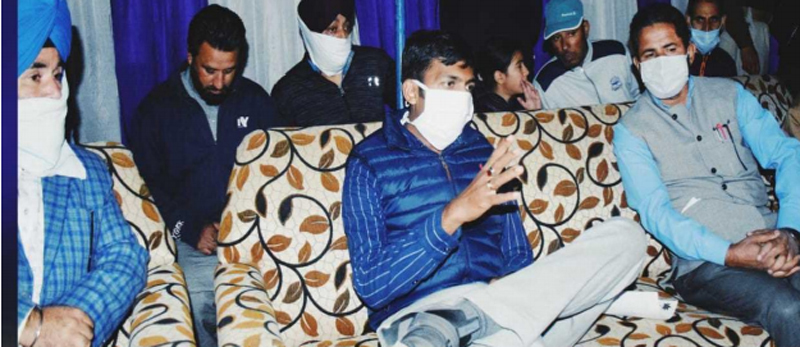 Jammu and Kashmir: DC Kupwara inaugurates evening football tournament